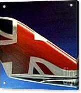Virgin Atlantic Winglet Acrylic Print