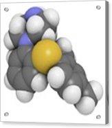 Vortioxetine Antidepressant Drug Acrylic Print