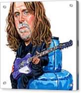 Warren Haynes Acrylic Print by Art