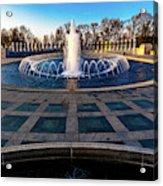 Washington D.c. - Fountains And World Acrylic Print