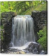 Water Fall Moore State Park Acrylic Print