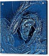 Water Rose Acrylic Print