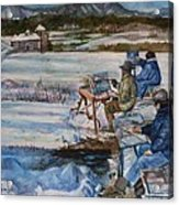 2-watercolor Landscapes Acrylic Print