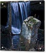 Waterfall At The Ruins Acrylic Print