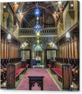 Welsh Church Acrylic Print by Ian Mitchell