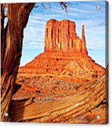 West Mitten Monument Valley Acrylic Print