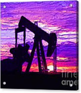 West Texas Intermediate Acrylic Print by GCannon