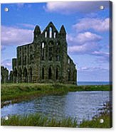 Whitby Abbey Acrylic Print by Trevor Kersley