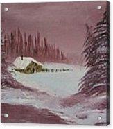 Whose Woods Acrylic Print