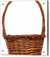 Wicker Basket Number Twelve Acrylic Print