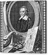 William Harvey (1578-1657) Acrylic Print