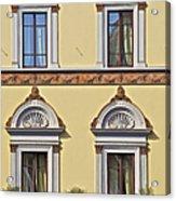 Windows Of Tuscany Acrylic Print