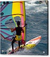 Windsurfing International Competition Acrylic Print