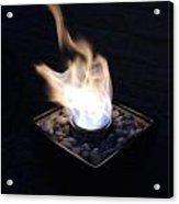 Windy Fire Acrylic Print