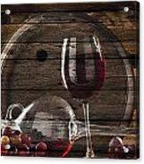 Wine Acrylic Print