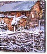 winter Russia Acrylic Print