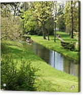 Woerlitzer Park Acrylic Print