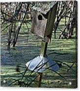 Wood Duck House IIi Acrylic Print