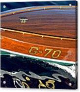 Vintage Ditchburn Racer Acrylic Print