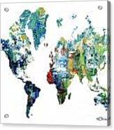 World Atlas  Acrylic Print