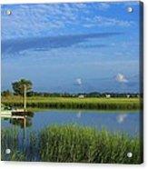 Wrightsville Beach Marsh Acrylic Print