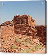 Wupatki Pueblo In Wupatki National Monument Acrylic Print