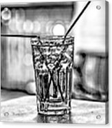 X Marks The Drink Acrylic Print