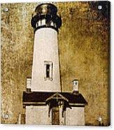 Yaquina Head Lighthouse - Oregon Acrylic Print