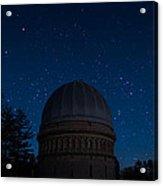 Yerkes Observatory Wisconsin Acrylic Print
