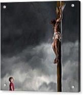 Yes Jesus Loves Me Acrylic Print