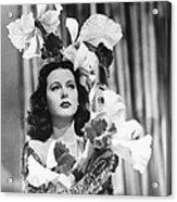 Ziegfeld Girl, Hedy Lamarr, 1941 Acrylic Print