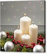 Advent Wreath Acrylic Print