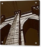 Brooklyn Bridge - New York City Acrylic Print