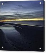 20 Degree Beach Sunrise Acrylic Print