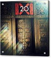 20 Exchange Place Art Deco Acrylic Print