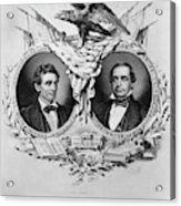 Presidential Campaign, 1860 Acrylic Print