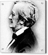 Richard Wagner (1813-1883) Acrylic Print