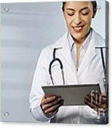 Telemedicine, Conceptual Image Acrylic Print
