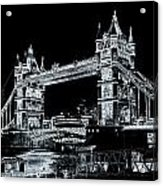 Tower Bridge Art Acrylic Print