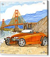 2002 Plymouth Prowler Acrylic Print