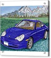 2002 Porsche 996 Acrylic Print