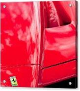 2003 Ferrari Enzo Hood Emblem Acrylic Print