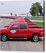2004 Brickyard 400 Silverado Drive-away Vehicles Acrylic Print