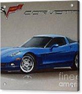 2005 Corvette Acrylic Print