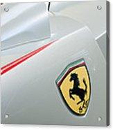 2005 Ferrari Fxx Evoluzione Emblem Acrylic Print