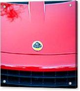 2006 Lotus Grille Emblem -0012c Acrylic Print