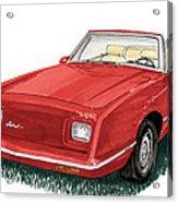 2006 Studebaker Avanti Acrylic Print