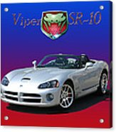 2006 Viper S R 10 Acrylic Print by Jack Pumphrey