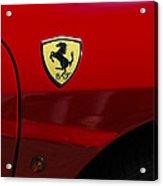2007 Ferrari F430 Spider F1 Acrylic Print