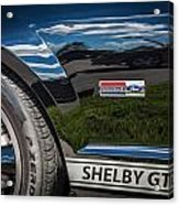 2007 Ford Mustang Shelby Gt500 Painted   Acrylic Print